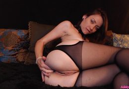 AdalynnX – Fisted Panties With Fingers Ass Deep