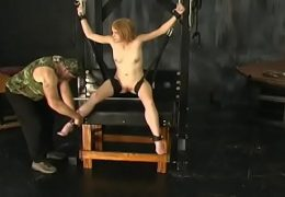 Amateur playgirl with fine assets amazing xxx thraldom